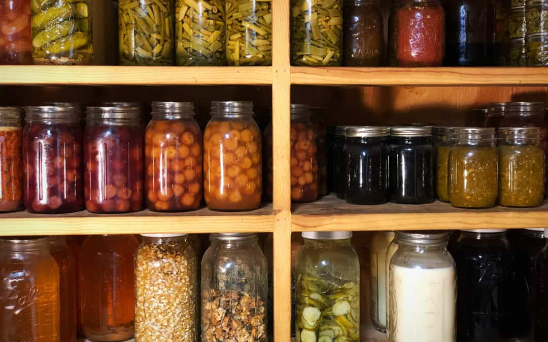 Building Up A Well-Stocked Pantry & Long-Term Food Storage Supply