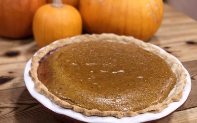 HOMEMADE PUMPKIN PIE RECIPE – FROM SCRATCH