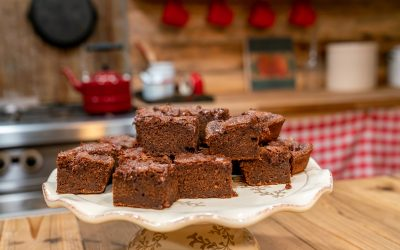 The Best Fudgy Homemade Sourdough Brownies