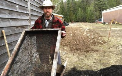 Building a DIY Compost Sifter